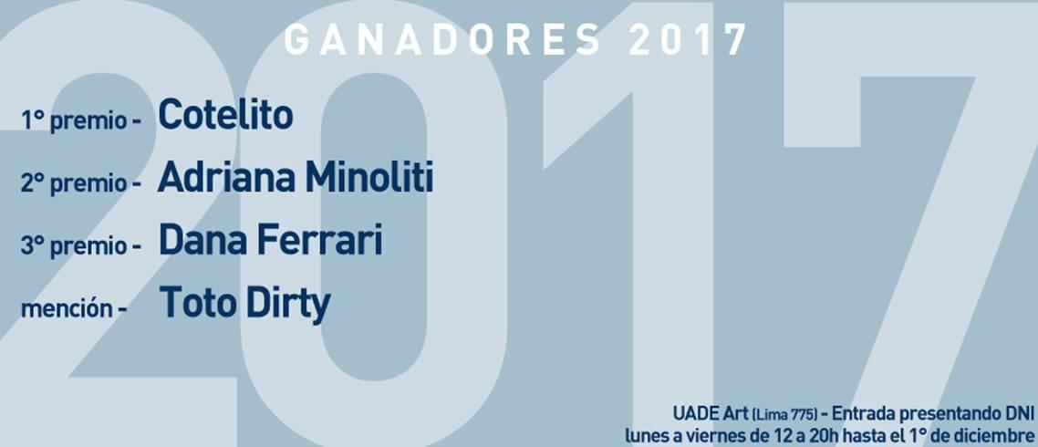 Ganadores 12° Concurso Nacional de Artes Visuales