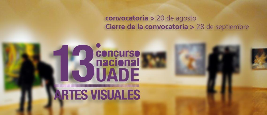 13° Concurso Nacional de Artes Visuales