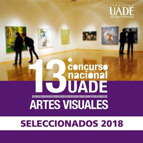 Seleccionados 13° Concurso artes visuales UADE